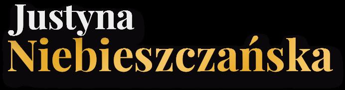 Justyna Niebieszczańska Logo